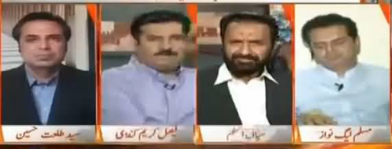 Naya Pakistan with Talat Hussain (Ehtasab Aur Siasi Jamatein) – 22nd July 2017
