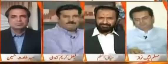 Naya Pakistan with Talat Hussain (Ehtasab Aur Siasi Jamatein) – 22nd July 2017