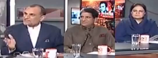 Naya Pakistan with Talat Hussain (Har Taraf Corruption Ki Goonj) - 17th March 2017