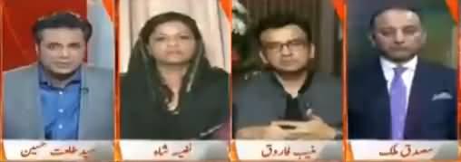 Naya Pakistan with Talat Hussain (Kamzoor Mueeshat) – 14th October 2017