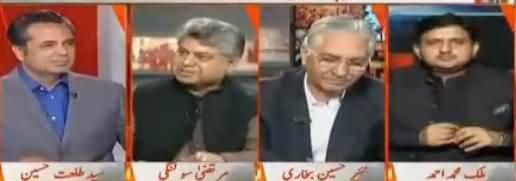 Naya Pakistan with Talat Hussain (NAB Cases Aur Nawaz Sharif) – 29th October 2017