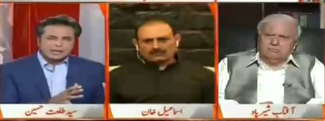 Naya Pakistan with Talat Hussain (Pak Afghan Border Per Kasheedagi) – 7th May 2017