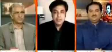 Naya Pakistan with Talat Hussain (PMLN Mein Darar Ki Khabarein) – 16th July 2017