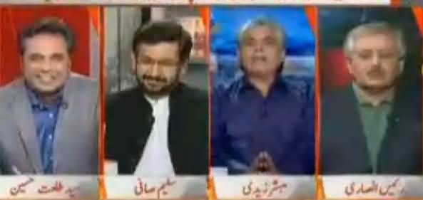 Naya Pakistan with Talat Hussain (PMLN Mein Toot Phoot) – 22nd October 2017