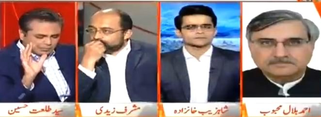 Naya Pakistan with Talat Hussain (Questions on Election) – 27th July 2018