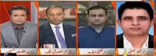 Naya Pakistan with Talat Hussain (Siasi Larai Mein Taizi) – 28th October 2017