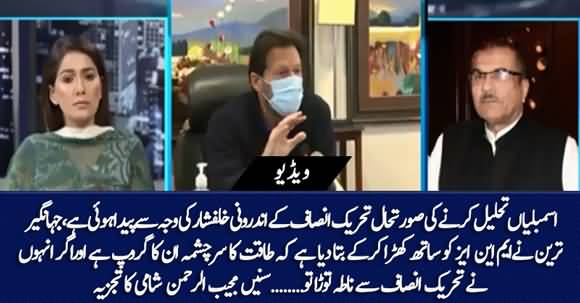 Need of Dissolving Assemblies Occurred Due to Perplexity Within PTI - Mujeeb ur Rehman Shami