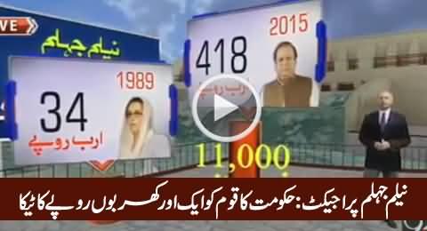 Neelum Jehlum Power Project: PMLN Govt Ka Pakistani Awaam Ko Sab Se Bara Teeka
