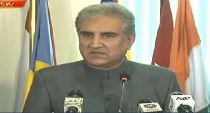 New Foreign Minister Shah Mehmood Qureshi News Conference – 20th August 2018