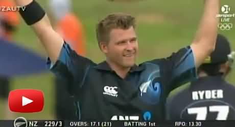 New Zealand's Corey Anderson Fastest Century in ODI Full Video, Shahid Afridi's Record Broken
