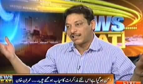 News Beat (Faisal Raza Abidi Exclusive Interview) - 26th April 2014