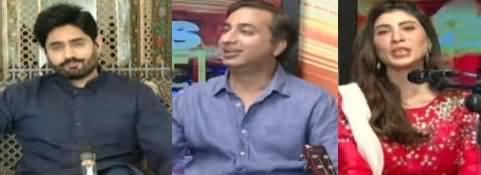 News Beat (Guests: Abrar ul Haq, Prof. Taimur, Hina Butt) - 24th May 2020