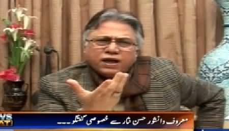 News Beat (Hassan Nisar Exclusive Interview) – 27th February 2015