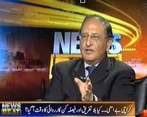 News Beat (Karachi Aman Kay Faislay, Ek Din Takheer Ka Faisla Ku ?) – 2nd September 2013