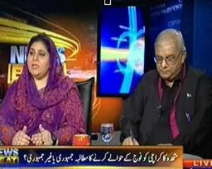 News Beat (MQM Ki Janib Say Foj Bulanay Ka Mutalba) - 27th August 2013