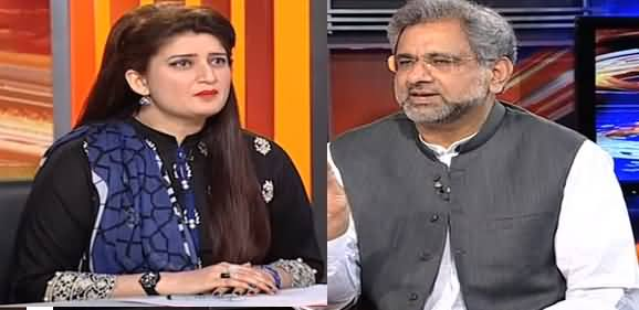News Beat (Shahid Khaqan Abbasi Exclusive Interview) - 12th May 2019