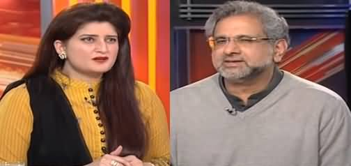 News Beat (Shahid Khaqan Abbasi Exclusive Interview) - 24th February 2019