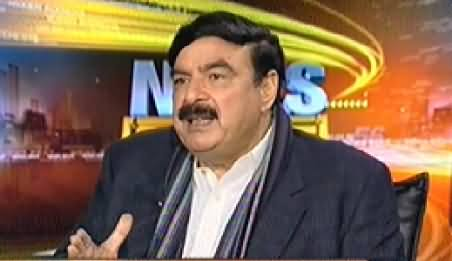 News Beat (Sheikh Rasheed Ahmad Special Interview) - 31st October 2014
