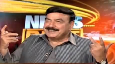 News Beat (Sheikh Rasheed Ahmed Exclusive Interview) – 10th May 2015