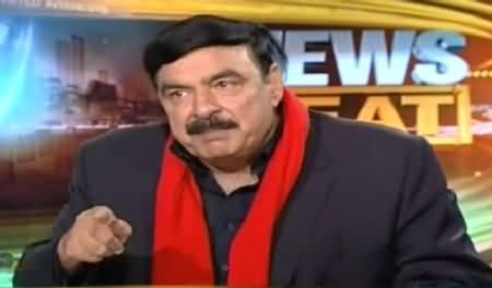 News Beat (Sheikh Rasheed Exclusive Interview) – 1st February 2015