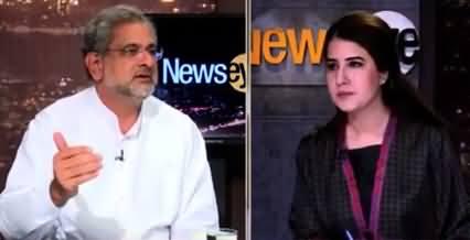 News Eye (Exclusive Talk With Shahid Khaqan Abbasi) - 9th June 2021