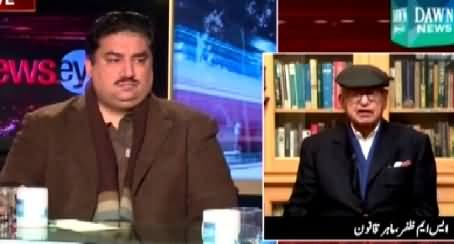 News Eye (Imran Khan Haar Tasleem Kar Lein - Pervez Rasheed) - 13th January 2015