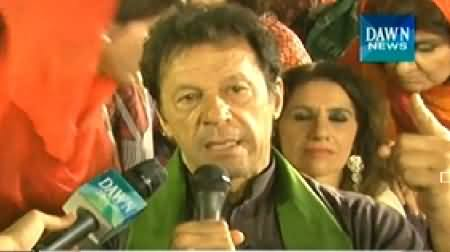 News Eye (Imran Khan Special Interview From Azadi Square) - 6th October 2014