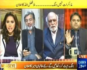 News Eye (Mazakarat Nahi Jang, Mullah Fazlullah Ka Elaan) - 7th November 2013