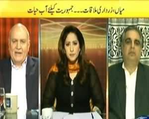 News Eye (Nawaz Zardari Meeting is Good For Democracy) - 16th April 2014