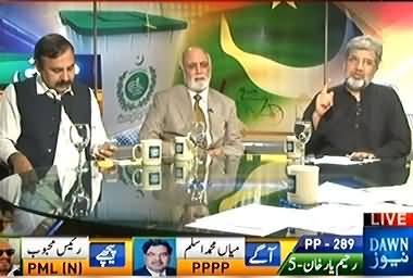 News Eye (Pakistan Mein Jamoriyat Ka Ek Aur Marhala Tamam Ho Gya - Ansar Abbasi, Haroon ur Rasheed, Hanif Abbasi as Guests) - 22nd August 2013