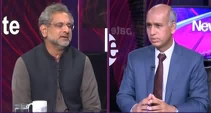News Eye (Shahid Khaqan Abbasi Exclusive Interview) - 18th March 2021