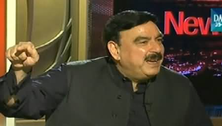 News Eye (Sheikh Rasheed Ahmad Exclusive Interview) - 18th September 2014