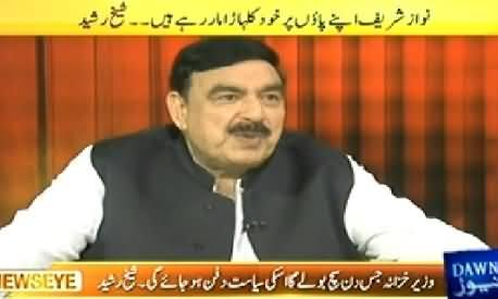 News Eye (Sheikh Rasheed Ahmad Exclusive Interview) – 8th May 2014