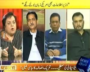 News Eye (Wazir e Etelaat Bhi Ameriki Zubaan Bolnay Lagay) - 25th November 2013