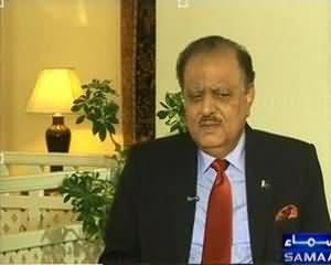 News Hour - 5th August 2013 (Special Interview President of Pakistan Mamnoon Hussain)