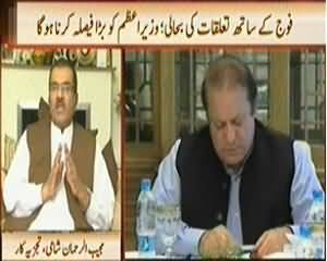News Hour (Better Relations with Army, PM Has to Decide) – 14th April 2014