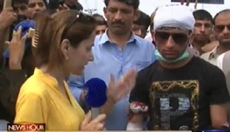 News Hour (Dr. Tahir ul Qadri Workers Clash with Police) - 23rd June 2014