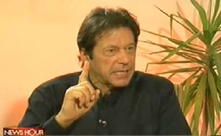 News Hour (Imran Khan Exclusive Interview) - 14th July 2014