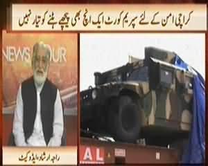News Hour (ISI Maidaan Mein Utar Ayi) - 31st October 2013