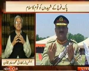 News Hour (Nation Salute to the Brave Soldiers of Pakistan) - 30th April 2014