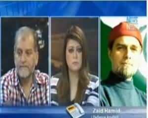 News Night - 16th August 2013 (Bharti Media Ka Jangi Junoon. Sarhadi Tanao Main Izafa)