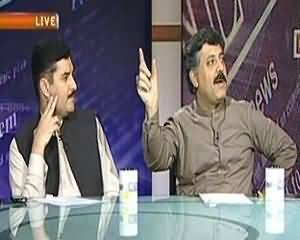 News Night (Karachi Samet Mulk Bhar Mai Aman-o-Aman Ki Bigharti Situation) - 29th August 2013