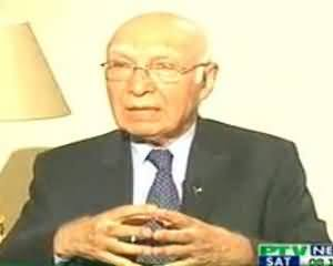 News Night (Sartaj Aziz Exclusive Interview) - 31st August 2013