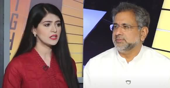 News Night With Aniqa Nisar (Exclusive Talk With Shahid Khaqan Abbasi) - 5th July 2021