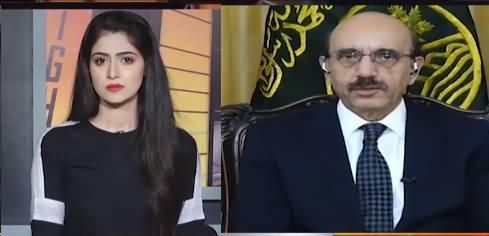 News Night With Aniqa Nisar (Sardar Masood Khan Interview) - 13th July 2021