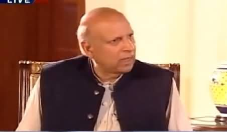 News Night with Neelum Nawab (Chaudhry Sarwar Exclusive Interview) – 13th March 2015