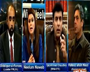 News Night With Neelum Nawab (Discussion on Current Issues) – 7th February 2015