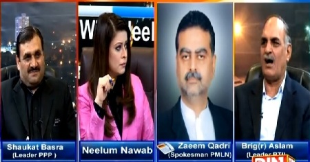 News Night With Neelum Nawab (Is Situation Going Out of Control?) – 21st February 2015