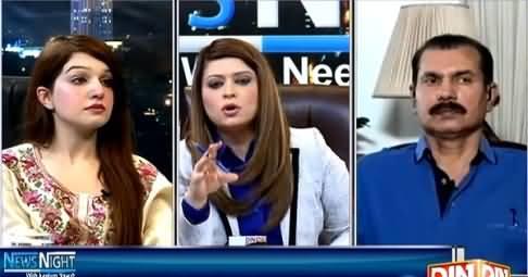 News Night with Neelum Nawab (Kashmir Mein Bhaarti Mazaalim Mein Tezi) – 3rd April 2015