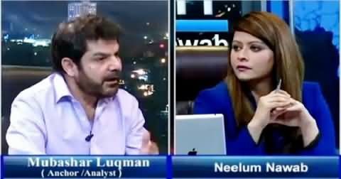 News Night With Neelum Nawab (Mubashir Luqman Exclusive Interview) – 4th July 2015